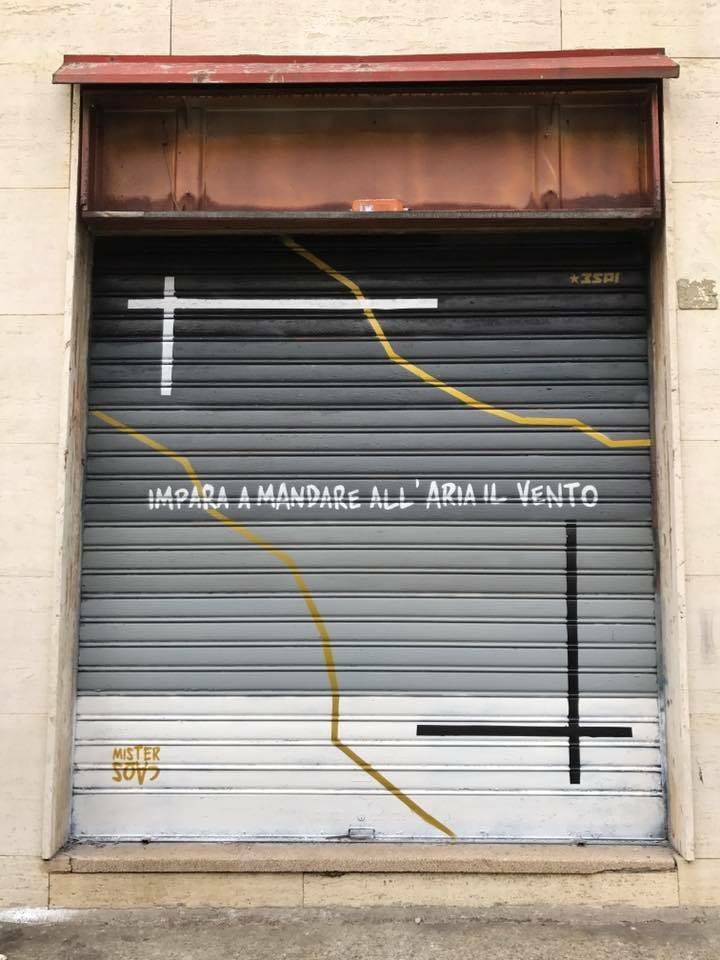 MisterCaos:poesia di strada:Milano Rho