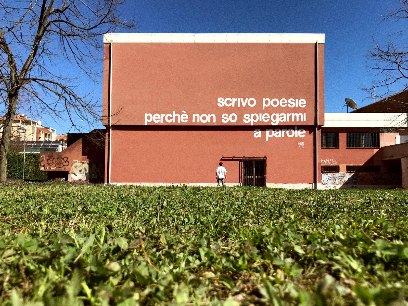 MisterCaos:poesia di strada:San Donato