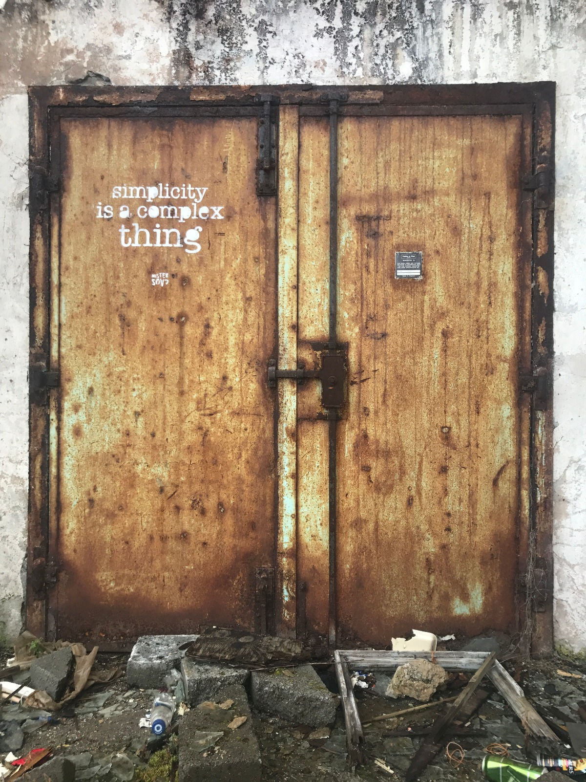 MisterCaos:poesia di strada:irlanda